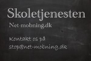 Projekt om mobning? Kontakt Skoletjenesten på Net-mobning.dk